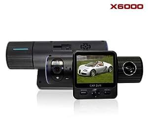 Car Camcorder DVR Car DVR Full HD 1080p Car Video Camera DVR Car Car Black Box 5.0 Mega with Dual Lens/ Dual Cam+GPS Function and Gravity Sensor