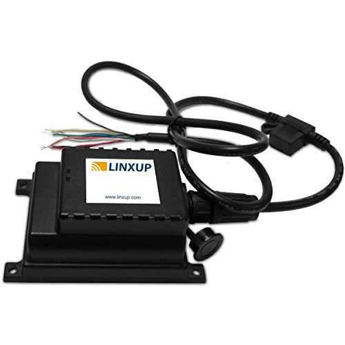 Linxup LAAA61 GPS Tracking Device, Locator for Trailers, Motorcycles, Boats with 6 Month Battery, Black
