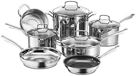 Cuisinart 89-11 11-Piece Professional Stainless Cookware Set