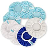 SPTA 5 Inch & 6 Inch Car Polisher Bonnet, Waxers Bonnet Set,Max Waxer Bonnet Polishing Pad for Most Car Polishers for 5 Inch & 6 Inch Car Polisher Pack of 8Pcs