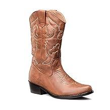 LARA's Womens Western Cowboy Cowgirl Boots