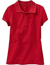 School All Year Round Best O.N. Uniform Pique Polo-Shirt for Girls in Many Colors