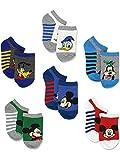 Mickey Mouse Little Boys 6 pack Socks