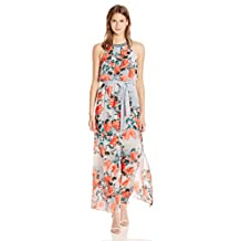 Adrianna Papell womens Floral Maxi Dress