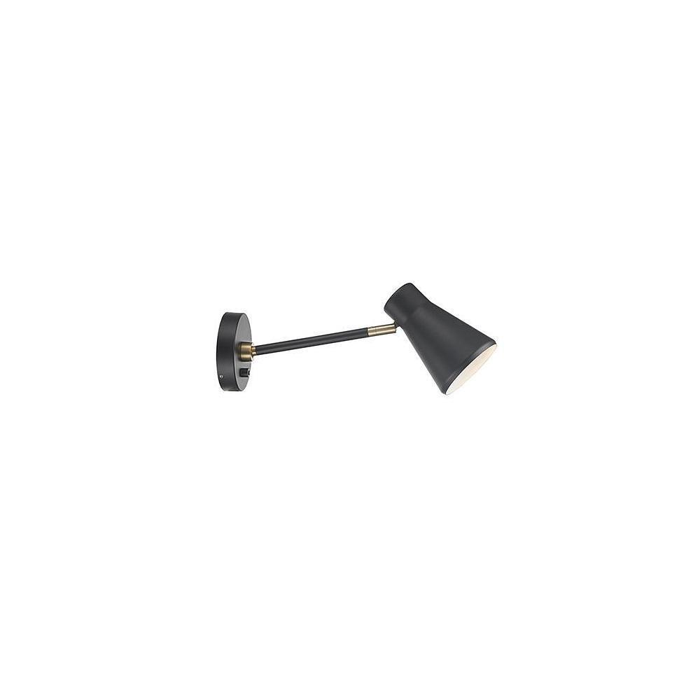 Nordlux LED Wandleuchte MOBILITY, GU10, IP20, schwarz EEK  A++ - A