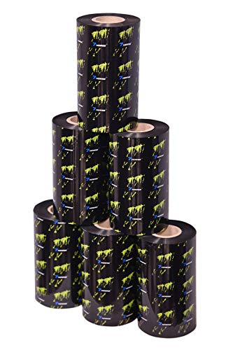 Shree Lamipack 110 MM X 300 Meters (PACK OF 3 Rolls) Thermal Transfer Barcode Labels Ribbon Premium Wax For Printer TSC, Zebra, Citzen, Datamax, Thosiba, Sato Etc. (B078XFMPP5) Amazon Price History, Amazon Price Tracker