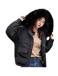 LIKESIDE Women Winter Coat Down Jacket Lady Fur Hooded Jacket Long Puffer Parka