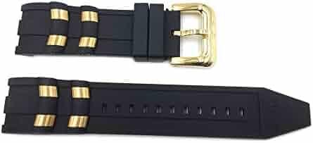 Genuine Invicta Pro Diver 26mm Black Watch Strap for Model 6981, 6983, 6985, 6995