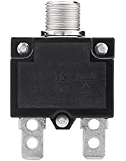 125/250V AC Thermal Overload Protector Reset Thermal Switch Circuit Breaker Over Current Overload Protector for Generator(15A)reset button,craftsman table saw switch,reset button way 101 15 amp for k