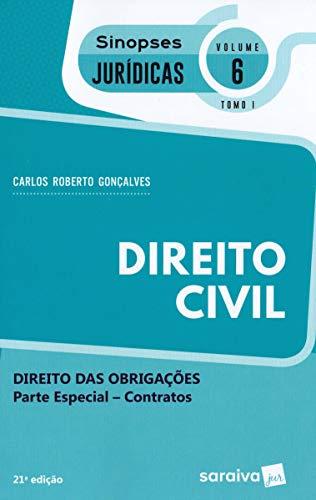 Direito Civil. Contratos - Volume 6. Tomo I. Coleção Sinopses Jurídicas