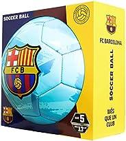 FC Barcelona Brush Team Soccer Ball