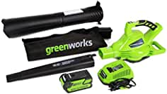 greenworks battery leaf blowers