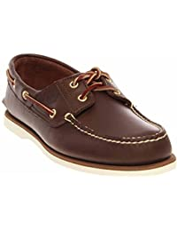 TB074035214 : Mens Classic Two-Eyelet Rubber-Sole Boat Shoe (10.5 D(