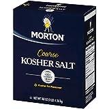 Morton Kosher Salt, Coarse, Food Service, 3 Pounds