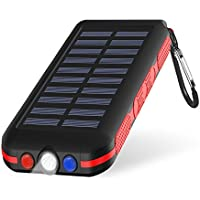 Portable Charger Power Bank Solar Charger 25000Mah...