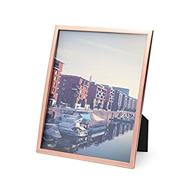 Umbra Senza Metal Picture Frame, 8 by 10-Inch, Copper
