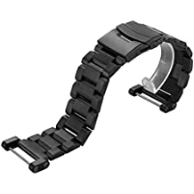 GBSELL Stainless Steel Quick Release Watch Band Strap+ Lugs Adapters + Repair Meter + Screwdriver For Suunto Core Watch