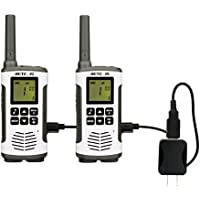 Retevis RT45 Walkie Talkies 22 Channel Private Codes Baby Monitor License-Free Rechargeable 2 Way Radios(Twin Packs)