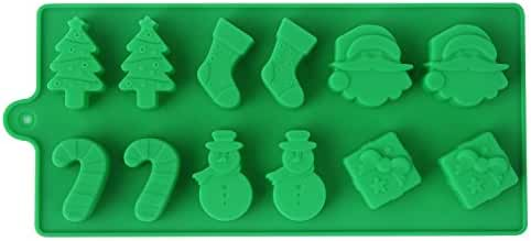 Crazy Egg Reusable Silicone Mold for Cake, Chocolate, Jelly, Candy and Ice cubes  (1, Green)