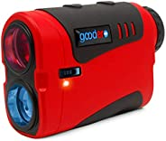 Golf Rangefinder, 1000/800 Yards 6X Rechargeable Laser Range Finder with Slope Switch ON/Off, Pinseeker, Angle