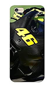 Resignmjwj Anti-scratch And Shatterproof Vehicles Moto Gp Valentino Rossi Yamaha M1 Agv Low Phone Case For Iphone 6 Plus/ High Quality Tpu Case