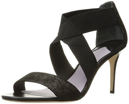 Johnston & Murphy Women's Felicity Dress Sandal Black Suede z5Xa6Ky