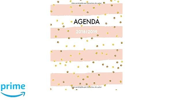 Amazon.com: Agenda 2018-2019: Perfecto para anotar tus citas ...