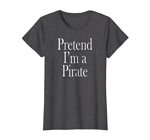 Womens Pirate Costume T-Shirt for the Last Minute