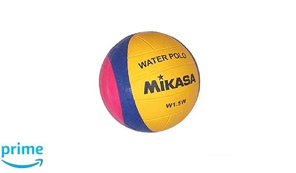 Pelota de waterpolo (tamaño 1, Mikasa W1,5W): Amazon.es: Deportes ...
