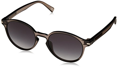 Marc Jacobs Women's Round Sunglasses, Grey/Dark Grey, One - Round Sunglasses Marc Jacobs
