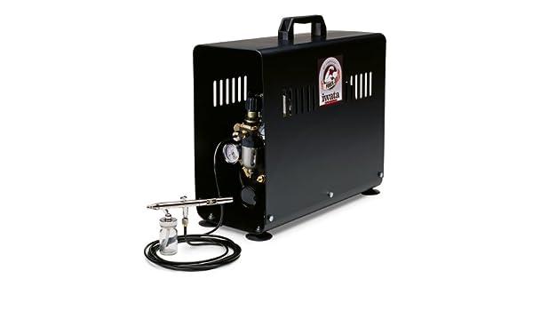 Iwata-Medea jet poder Studio serie compresor de aire de doble pistón: Amazon.es: Bricolaje y herramientas