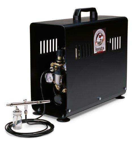 Iwata-Medea Studio Series Power Jet Double Piston Air (Sprint Jet Airbrush Compressor)