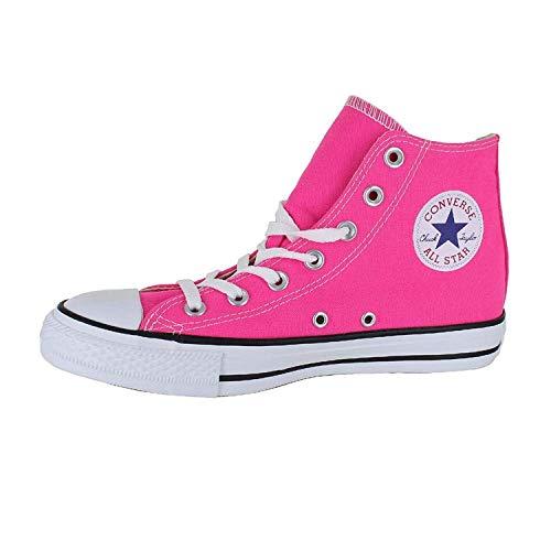 Converse Chuck Taylor All Star Seasonal High Top Fashion Shoe Pink Pow Blue Men's Size 5/Women's Size 7