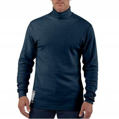 Carhartt Flame - resistant Long Sleeve Mock Turtleneck, D...