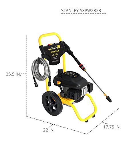 STANLEY SXPW2823 2800 PSI @ 2.3 GPM Gas Pressure Washer Powered by STANLEY (50-State) by Stanley (Image #5)