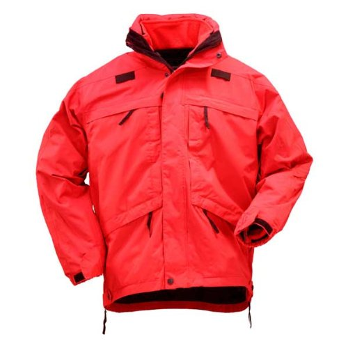 5.11 Tactical #48001 3-in-1 Parka (Range Red, (5.11 Tactical Nylon Vest)