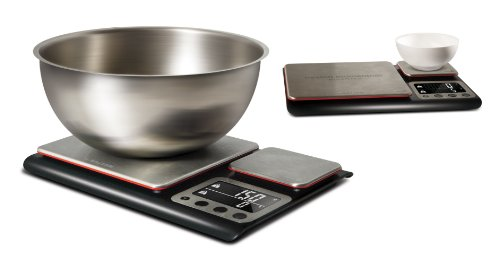 -[ Heston Blumenthal Dual Platform Precision Scale by Salter, High Capacity 10kg and Ultimate Recip