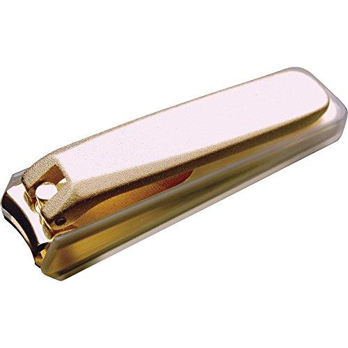 和製金メッキ爪切り(大・カバー付) 【つめ ツメ つめ切り つめきり