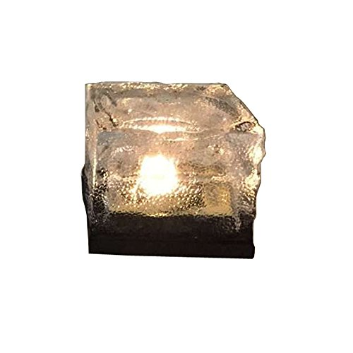 WZYuan Solar Power Energy Clear Glass Ice Rock Brick Pave...