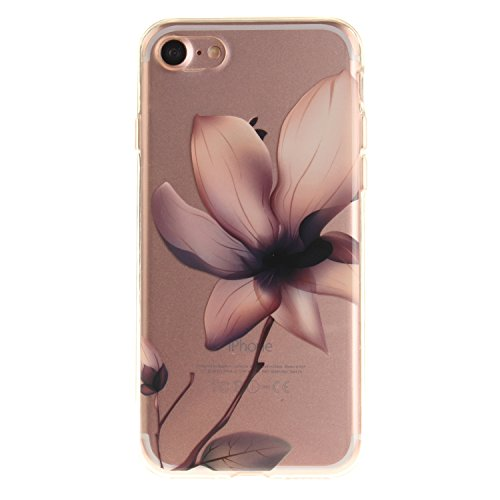 MOONCASE iPhone 7 Hülle Case,Slim Handyhülle Schutzhülle Rutschfestem TPU Soft Backcover Bumper Case für iPhone iPhone 7 TX34