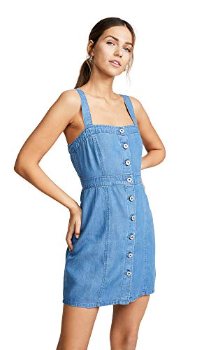 BB Dakota Women's Jean Spirit Dress, Blue, 2 (Womens Jeans Dakota Bb)