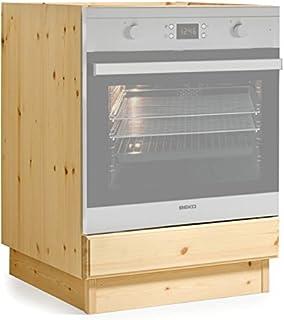 Armadio Forno a incasso 60 cm Bianco Sotto il forno forno piano ...