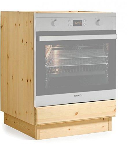 Arredamenti Rustici Base forno cucina da L60 -Finitura Naturale/TOP ...