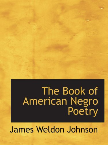 Download The Book of American Negro Poetry pdf epub