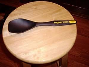 Tupperware Slotted Spatula/spoon/black