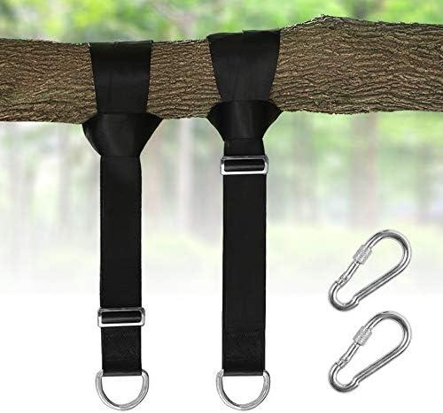 2 Tree Swing Hanging Straps Kit Adjustable Straps Holds 2200 lbs 5ft SwingEz
