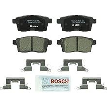 Bosch BC1259 QuietCast Premium Ceramic Disc Brake Pad Set For Ford: 2007-2010 Edge; Lincoln: 2007-2010 MKX; Mazda: 2007-2011 CX-7, 2007-2015 CX-9; Rear