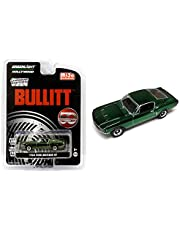 1968 Ford Mustang GT Chrome Green Edition Bullitt (1968) Movie 50 Years Anniversary Limited