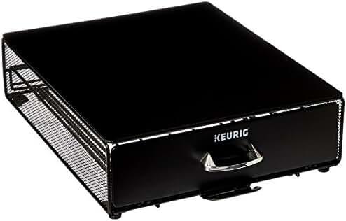 Keurig Storage Drawer, 35 Count, Black