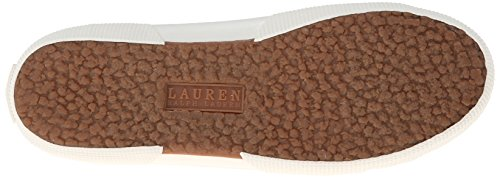 Lauren Womens Jolie Fashion Sneaker Kaki Effen Canvas